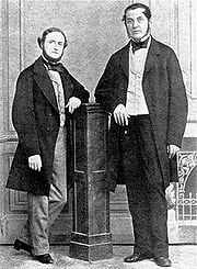 Gustav-Kirchhoff-and-Robert-Bunsen